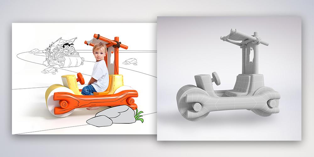 proyecto de imagen con animación 3D